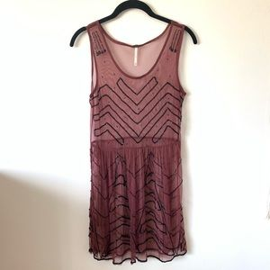 Free People slip over dress